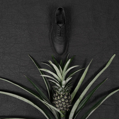 Piñatex® is a natural alternative to leather made from pineapple leaf fibre. Image C. Mueller