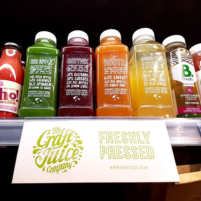 Delicious #craftjuiceco juices on sale now #eat17 SPAR in Hackney. Get em while they're fresh! #coldpressed #juice #noHPP  #fresh #vegan #brunch