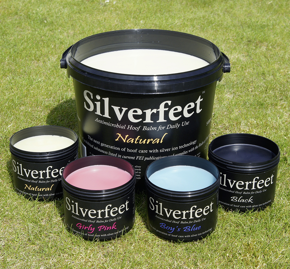 Silverfeet comes in a range of fun colours