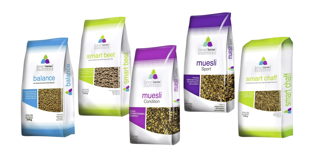 The Smart Horse Nutrition range