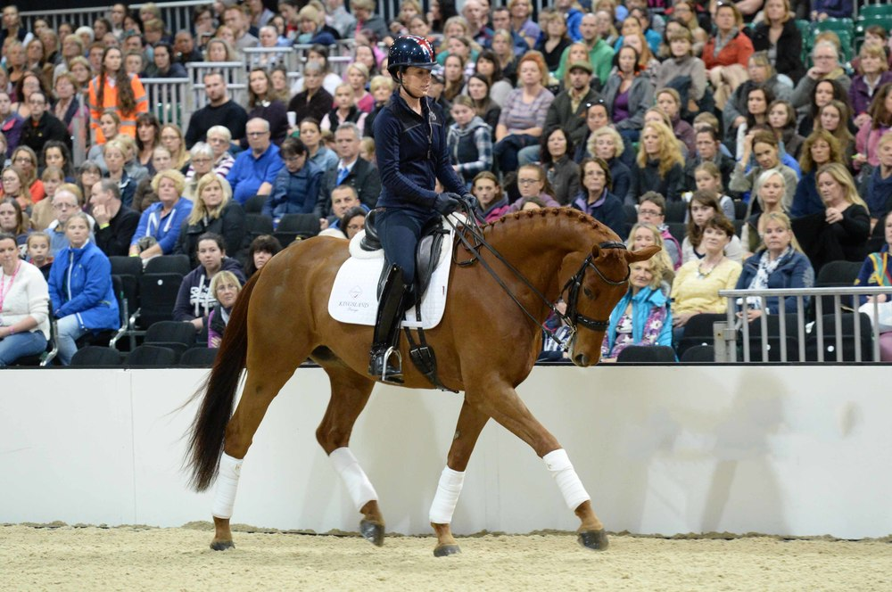 See Charlotte Dujardin's expert demonstration in the BETA Arena at Your Horse Live