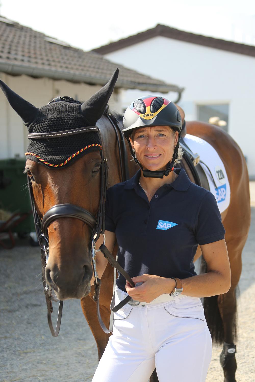 German event rider Ingrid Klimke