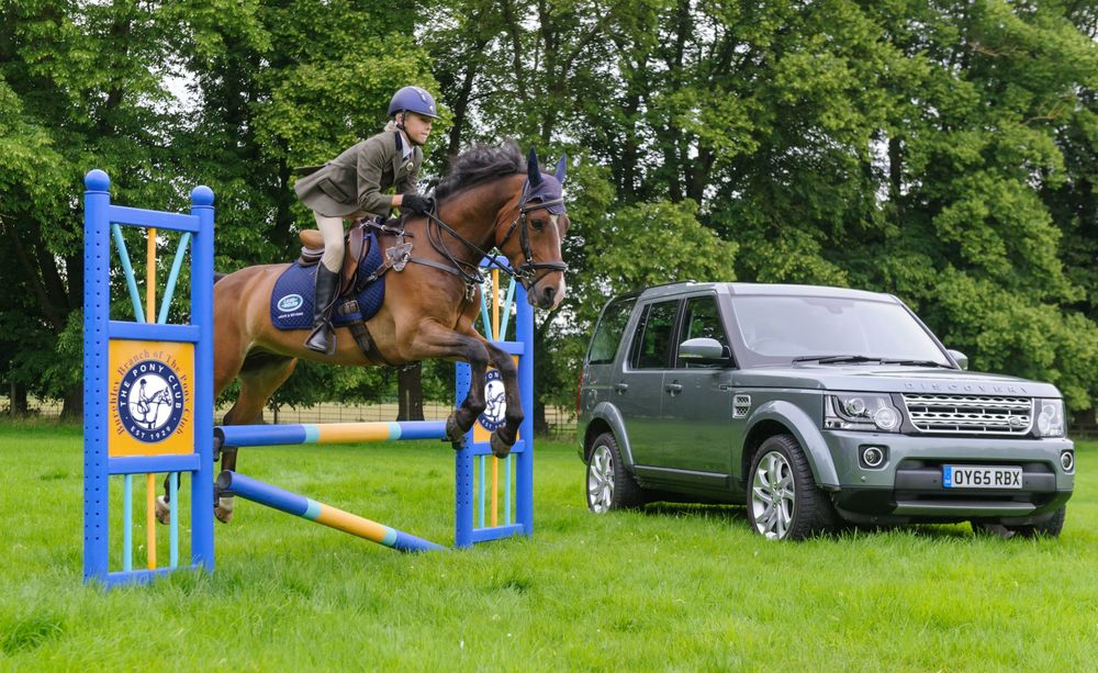 It's great news for the Pony Club that Land Rover will sponsor their new competition.