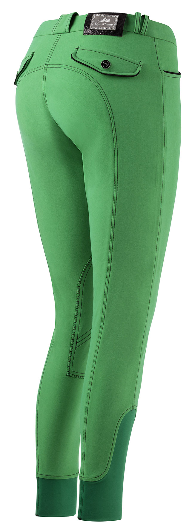 Verona Breeches - Bright Green - Back.jpg