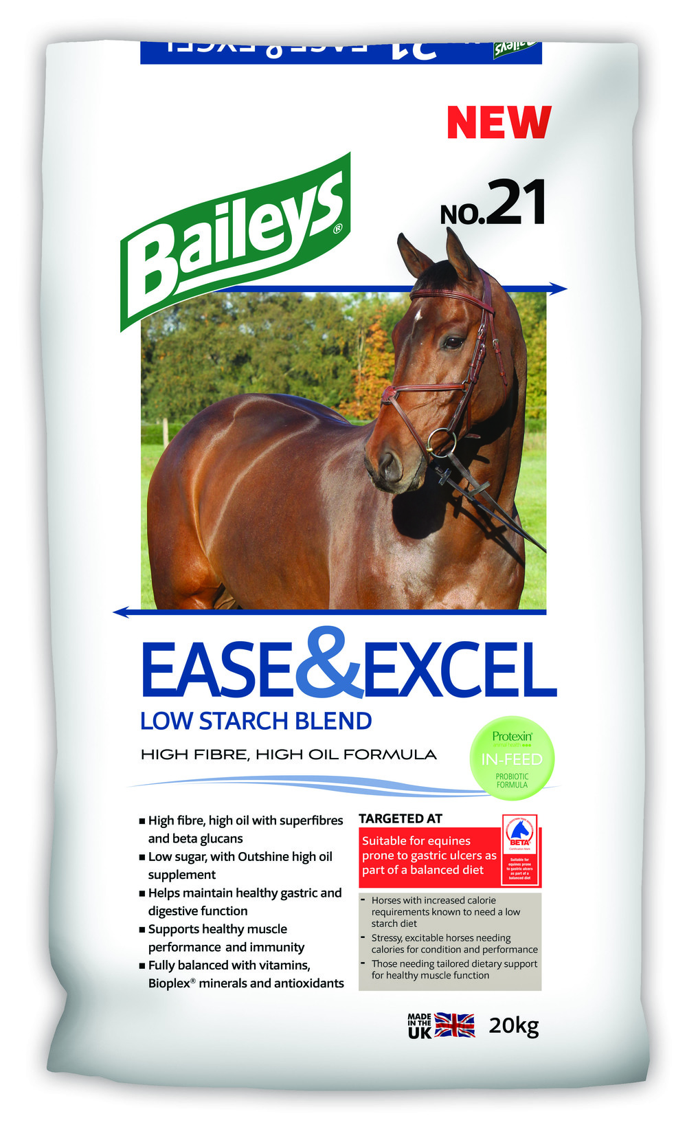 Baileys Ease & Excel has also been granted BETA's new approval mark