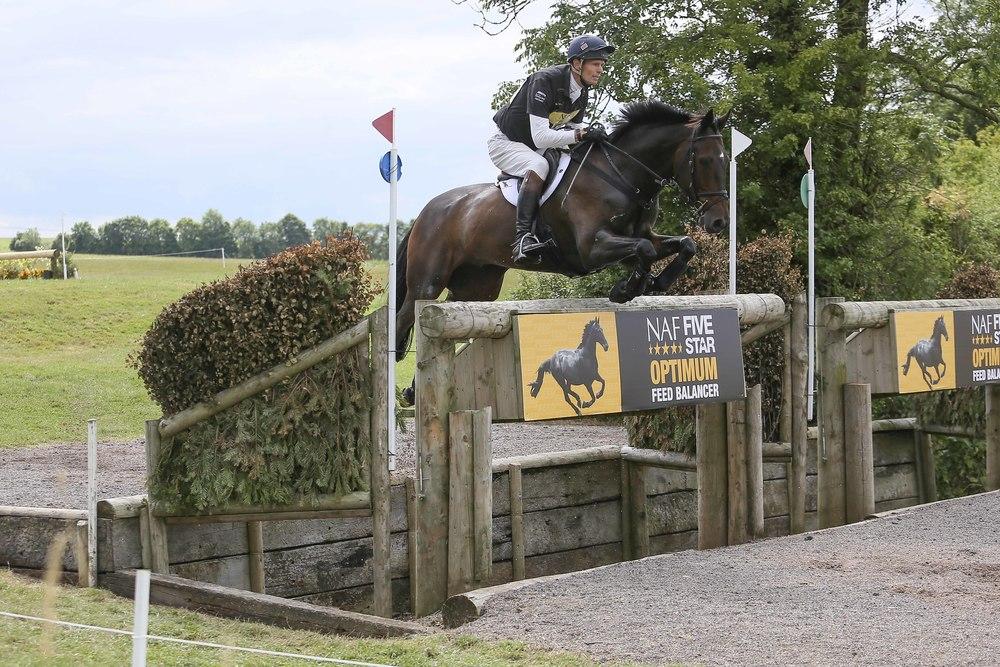 Winner of last year's CIC3* William Fox-Pitt riding Bay My Hero
