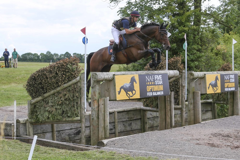Astier Nicolas and Molakai at the NAF International Hartpury Horse Trials in 2015