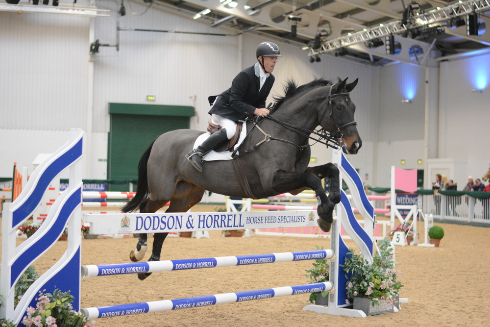 Ian Wynne, one of the riders selected for the Veteran squad (Credit: Majestic Photography/British Showjumping)