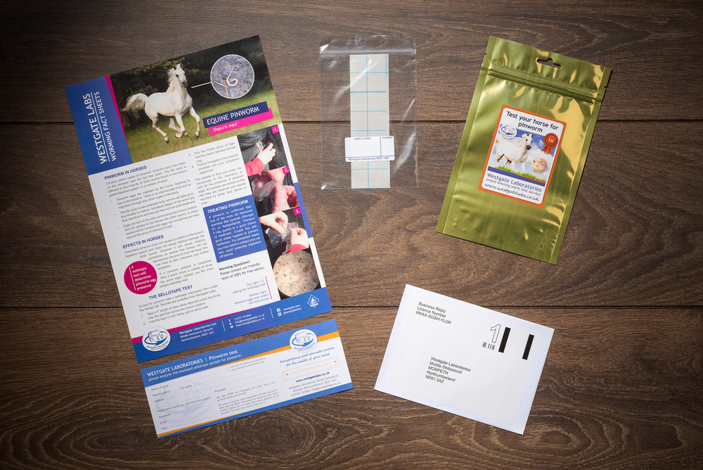 Inside the kit you'll find a test strip, a voucher plus information and advice