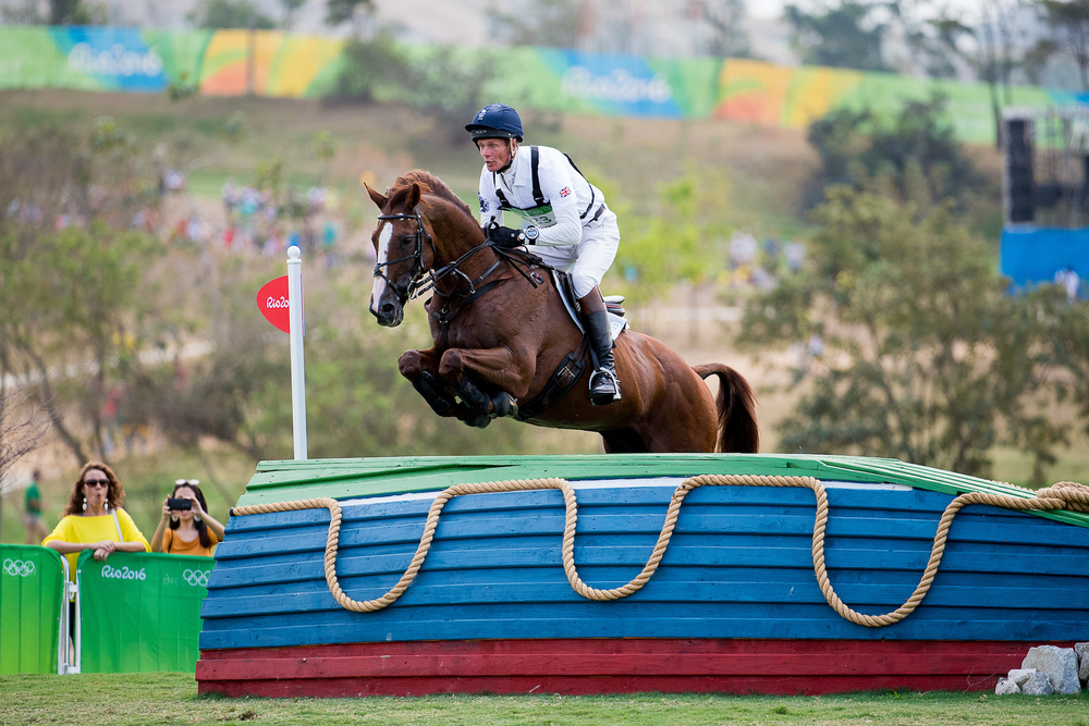 William Fox-Pitt riding Chilli Morning now in 22nd place (Credit:BEF/Jon Stroud Media)