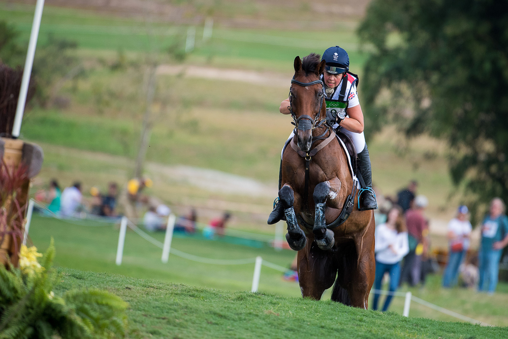 Kitty King riding Ceylor L A N were last to go for Team GB on the course (Credit:BEF/Jon Stroud Media)