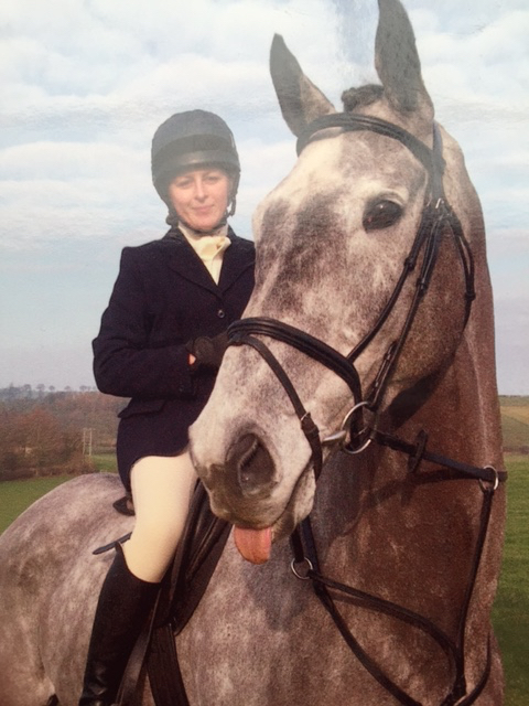 Vet Nancy Homewood enjoys horse riding in her spare time when not working as a vet