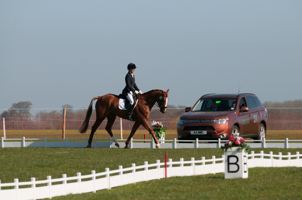 Judith Bennett took her fourth ticket to the Mitsubishi Motors Cup (Credit: Mitsubishi Motors Cup/Badminton Horse Trials)