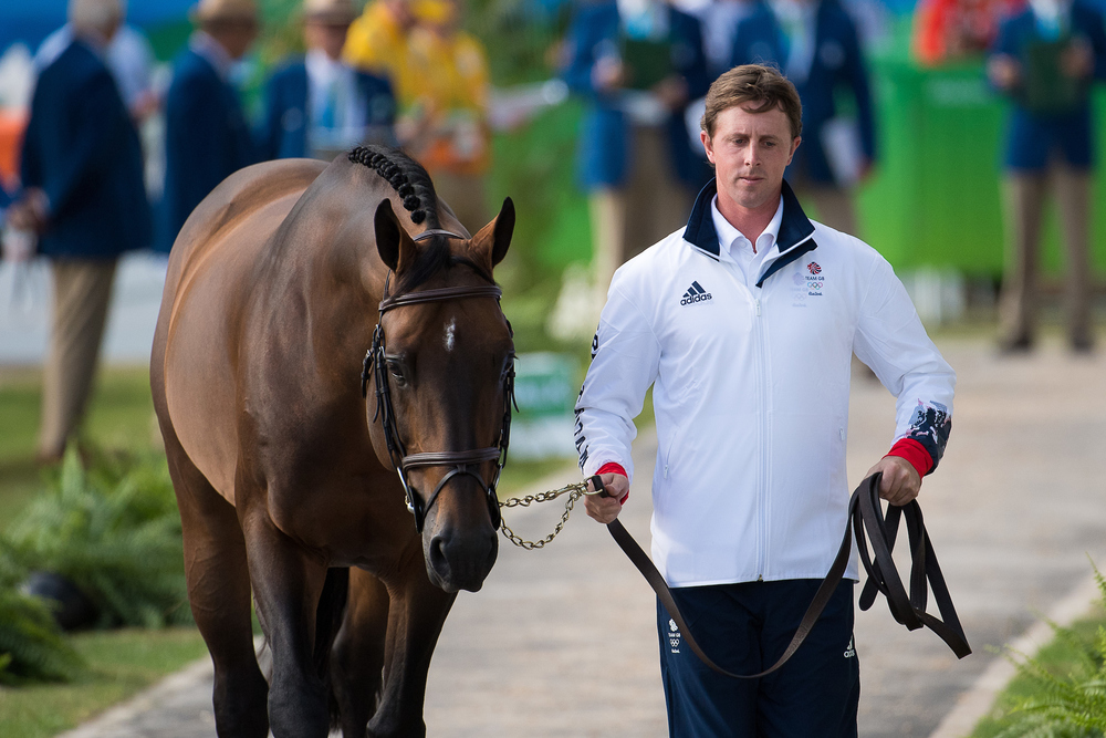 Ben Maher trots up Tic Tac (Credit: BEF/Jon Stroud Media)