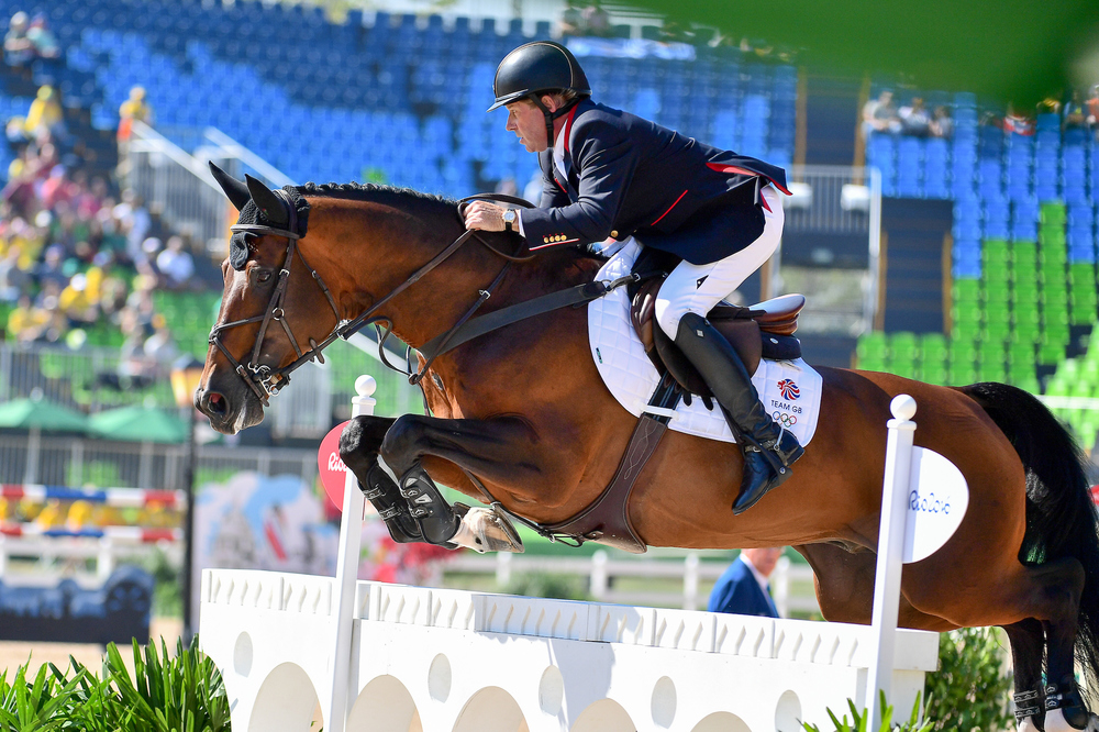 Riding Big Star, Nick Skelton produce a quick time in their first appearance at Rio (Credit: BEF/Jon Stroud Media)