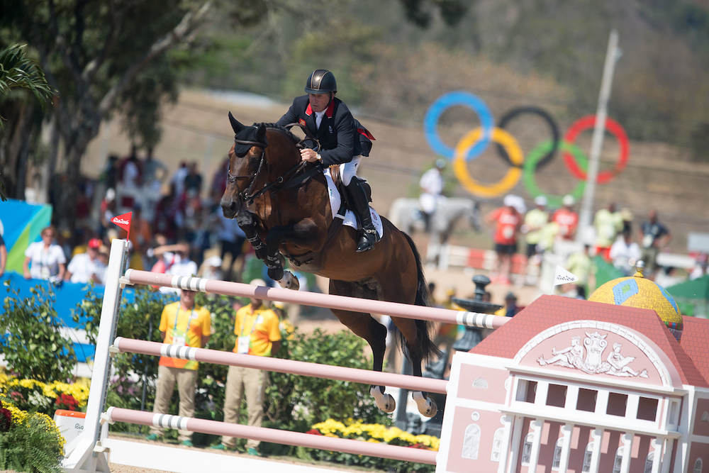 Nick Skelton goes clear (Jon Stroud Media)