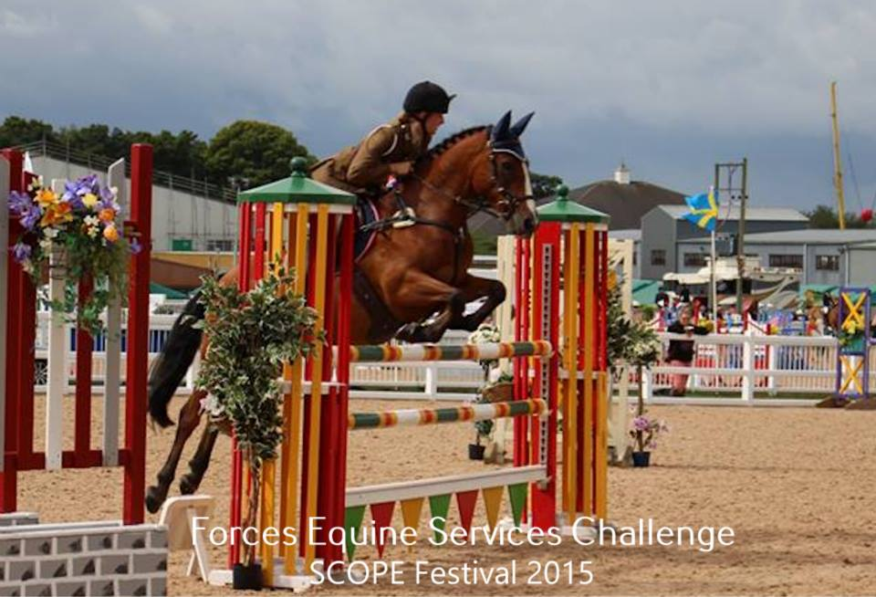 Get your entry in quick if you want to take part in the Forces Equine classes
