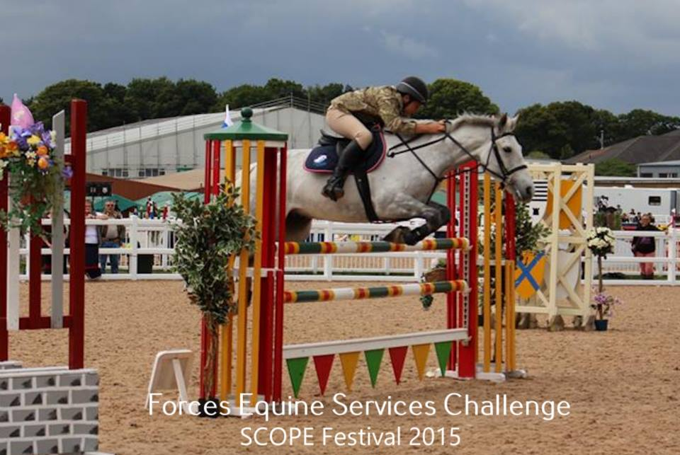 Great prizes on offer in the Forces Equine classes at Scope