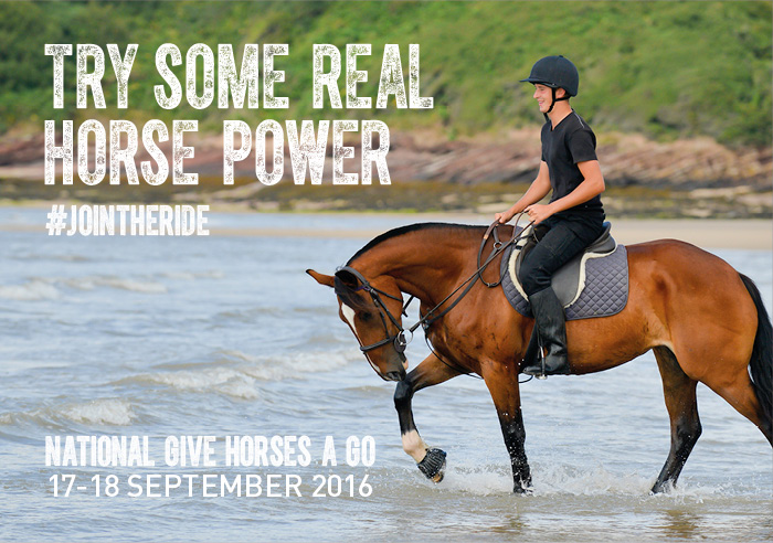 The BEF hopes to encourage more people to 'Give Horses a Go'.