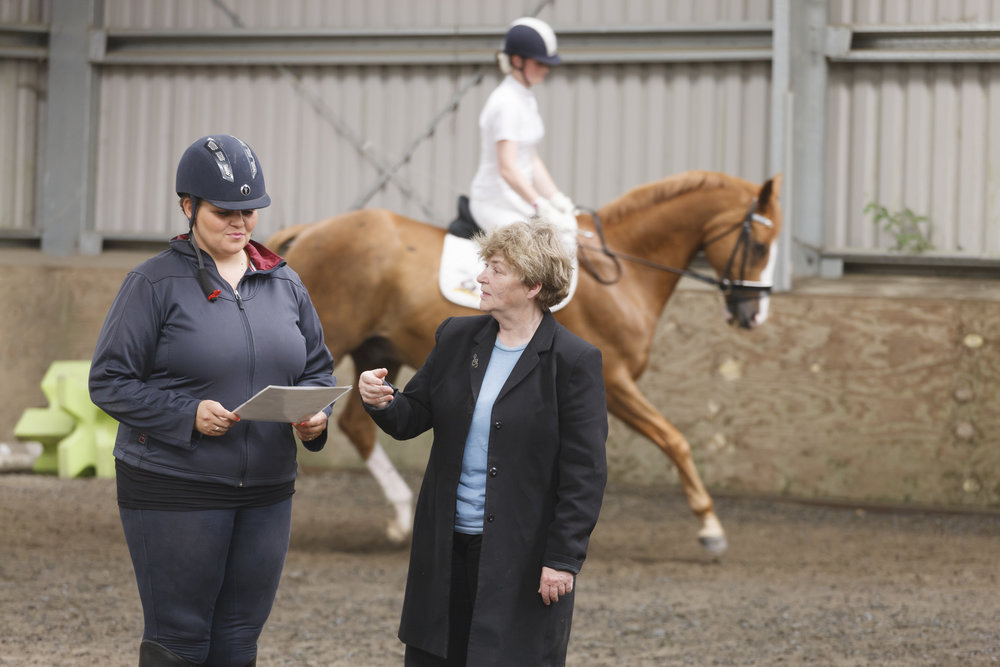 Dressage to music composer Gaynor works with horse and rider combinations, every step of the way, from planning to execution