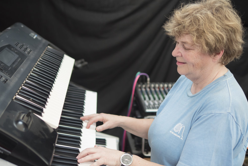 Gaynor will be playing her keyboards live at Your Horse Live in her exciting dressage to music demonstration