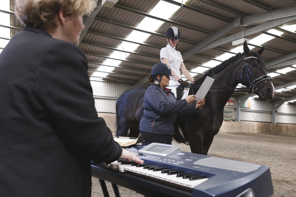 Gaynor Colbourn creates tailor-made floor plans and dressage music for riders