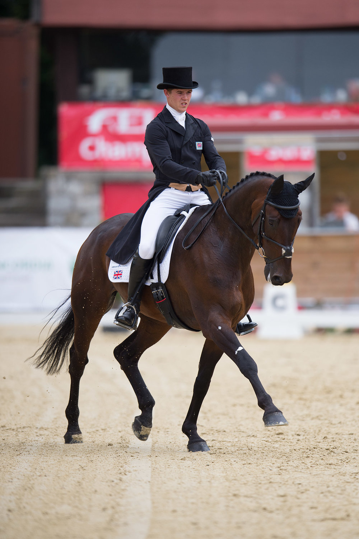 2015 individual gold medallist Will Furlong (Credit: Ben Clark Photography)