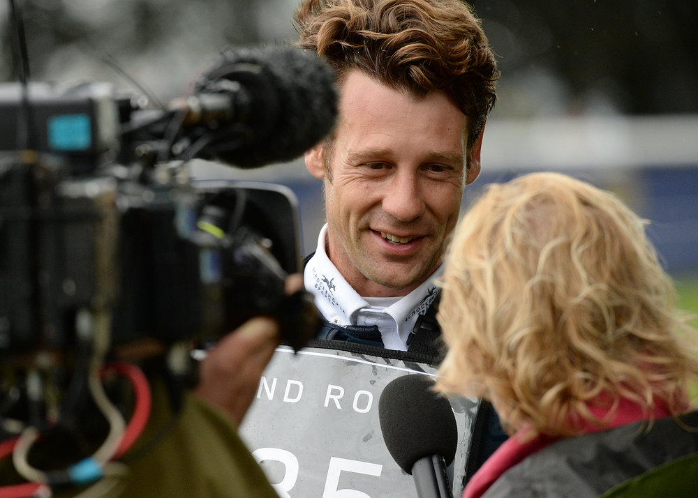 Christopher Burton is this year's Land Rover Burghley Horse Trials champion