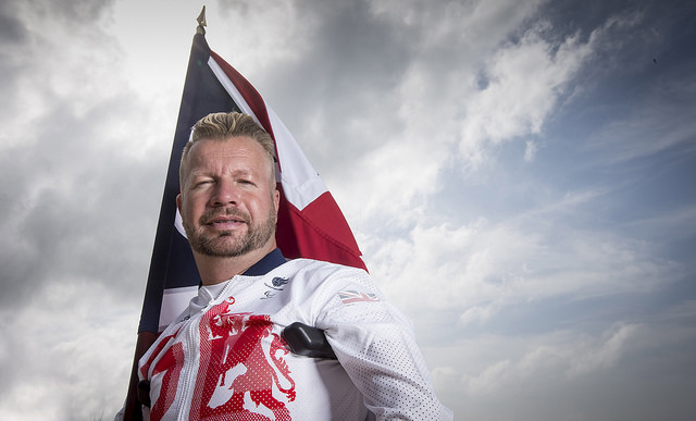 Lee Pearson will be the flag bearer for the British team (Photo: onEdition)