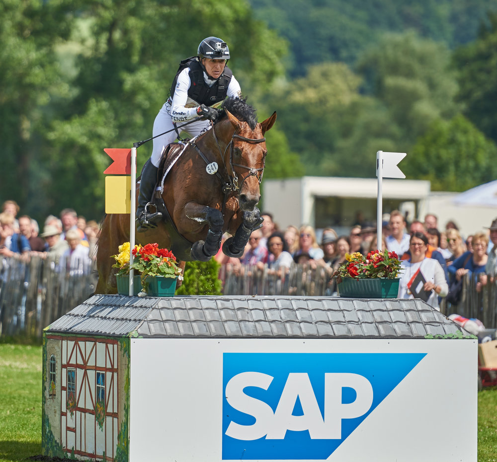 SAP is the Official Technology Sponsor of the Event Rider Masters (Credit: Eventridermasters.tv.)