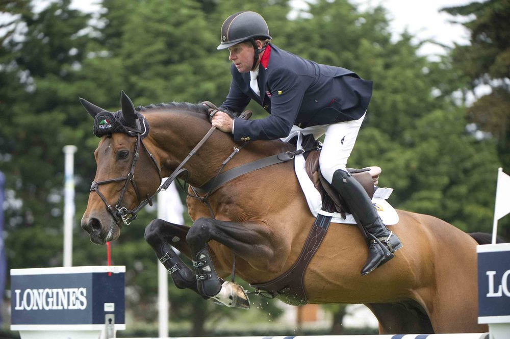 Nick Skelton will be at HOYS with Big Star (Credit: British Showjumping)