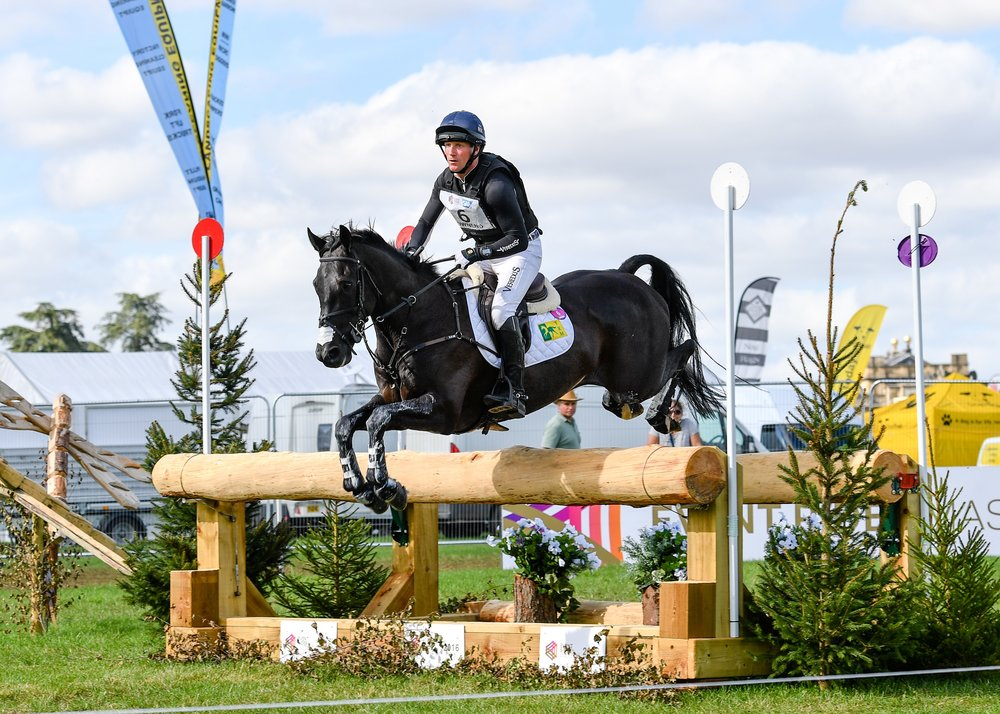 Oliver Townend riding Cillnabradden Evo secure the over ERM series title finishing second at the Blenheim Palace International Horse Trials (Credit: Eventridermasters.tv)
