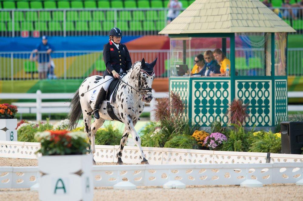 Anne Dunham (GBR) riding LJT Lucas Normark took silver (Credit: BEF/Jon Stroud Media)