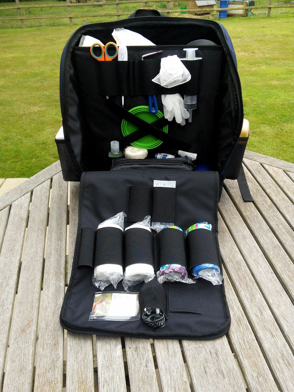 The equiMedPak keeps all your first aid items safely in one place