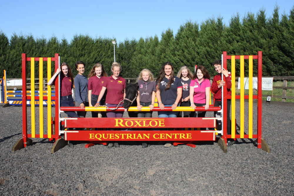 Teens at Roxloe Equestrian Centre have launched their own Young Equestrians group