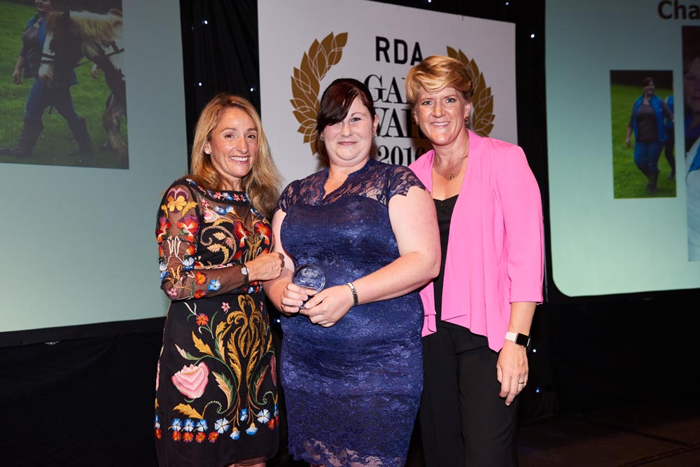 Charlotte Court was the 2016 Volunteer of the Year for her work with Kitty Baron RDA