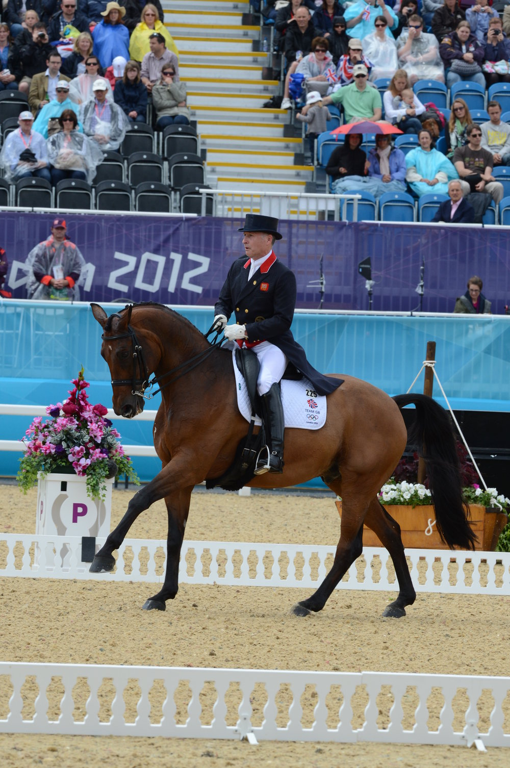 Dressage star Richard Davison will compere at BD's National Convention (Credit: Kevin Sparrow)