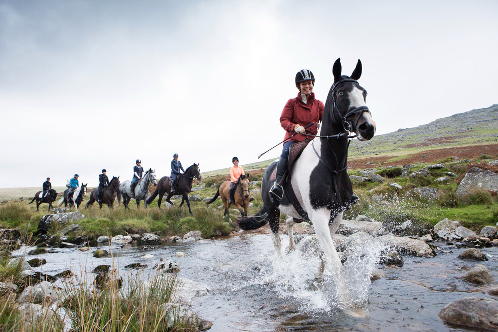 The first ever Dartmoor Derby took place across a variety of terrain (Credit: Liberty Trails/Polly Baldwin  www.dynamicpictures.co.uk )