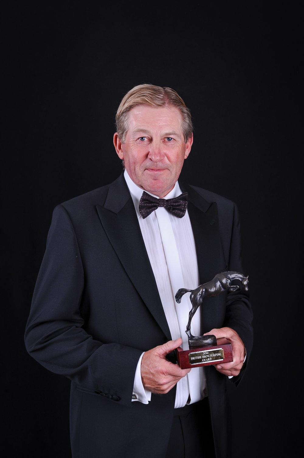Nick Skelton won the British Showjumping Award (Pic: British Showjumping)