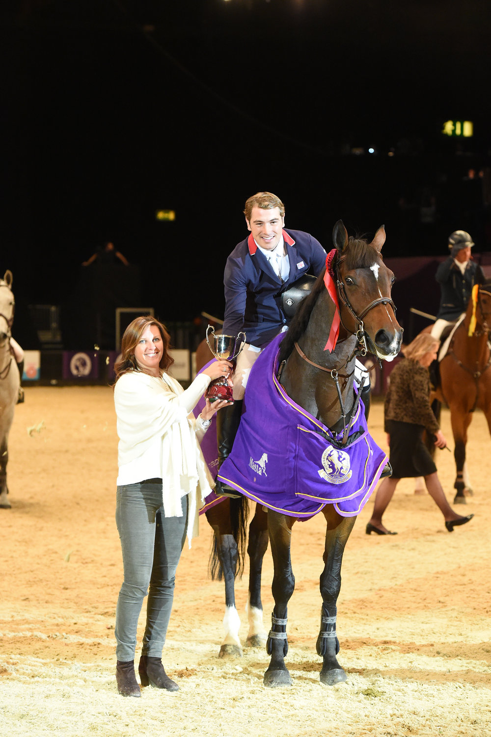 Joe Whitaker has had success at this year's HOYS (Pic: ES Photography)