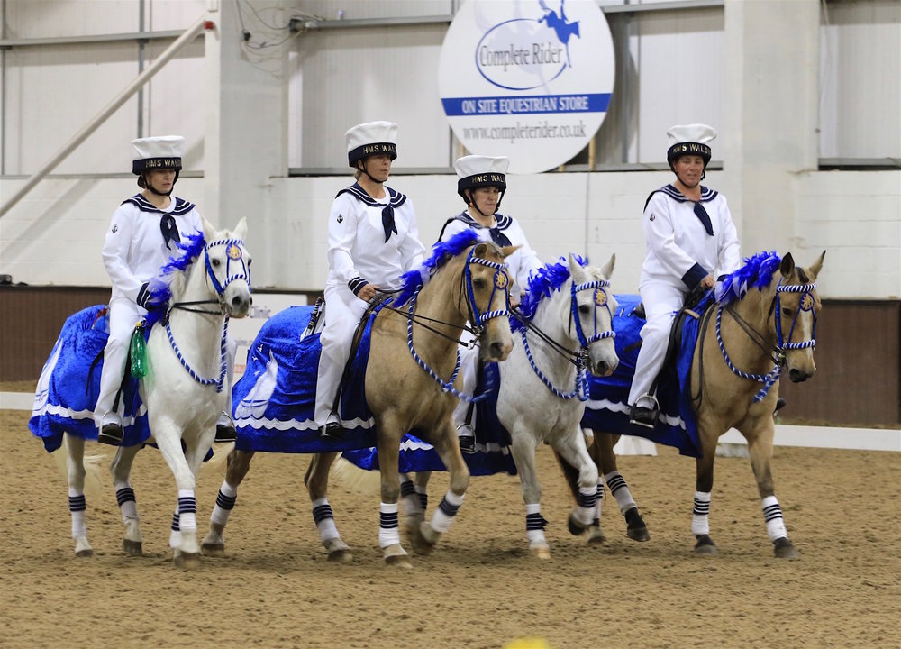 Saffron Walden & District are one of four teams to qualify (Credit: British Horse Society)