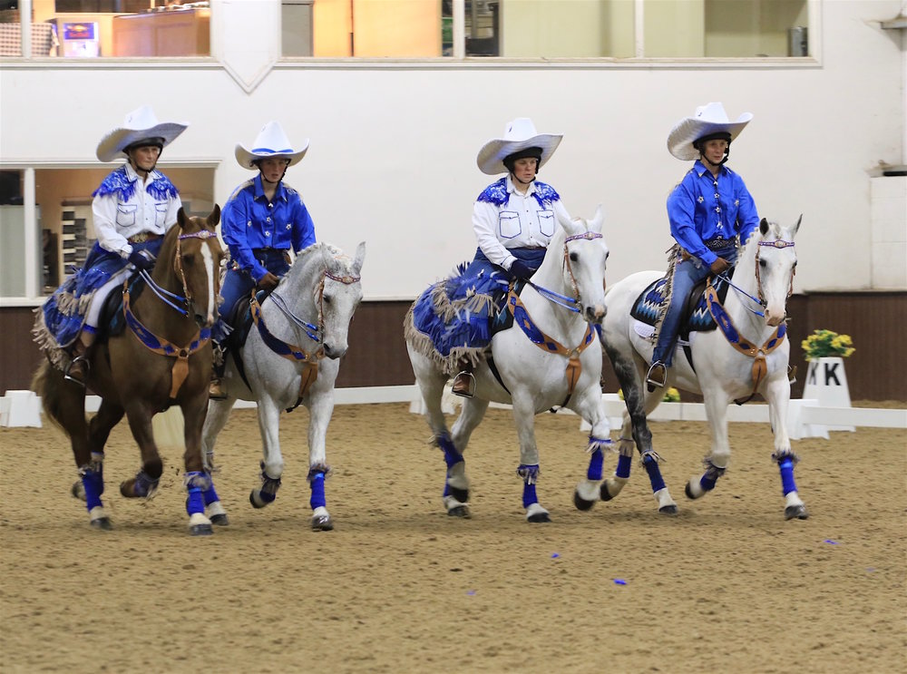 Witheridge RC goes Western (credit: British Horse Society)