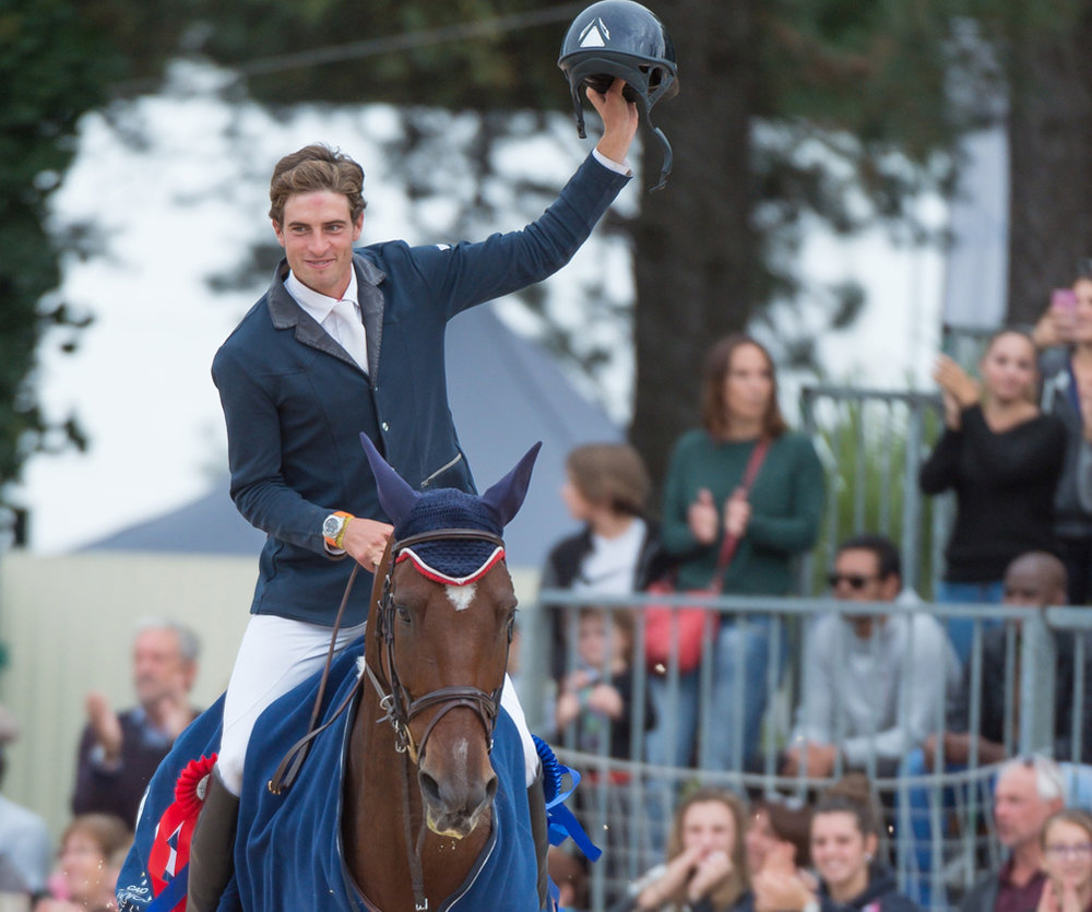Maxime Livio scored his first CCI4* victory at Les 4 Etoiles de Pau
