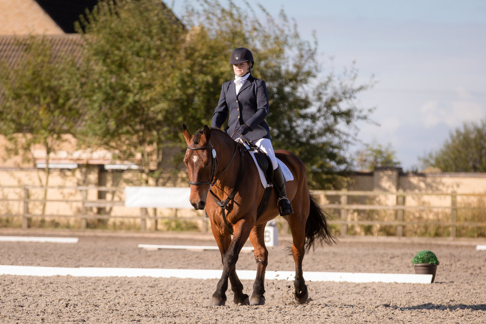 Ruth recently won the regional championship on Coda (Picture: Lianne Gray Photography)