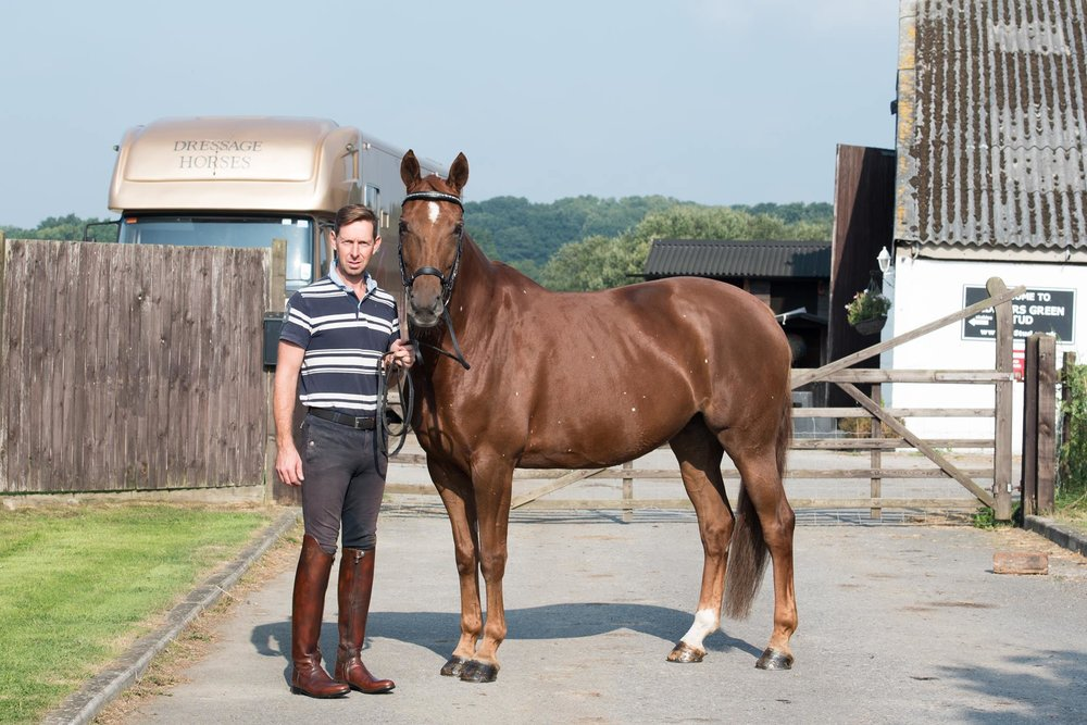 Dressage rider Daniel Watson takes sponsorship deal