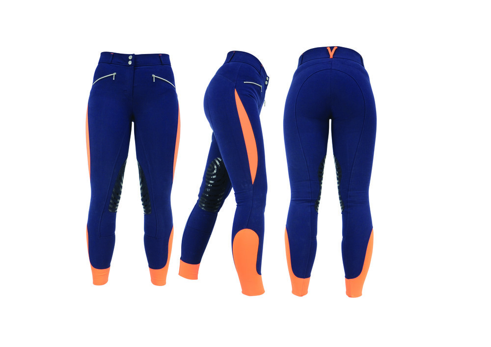 Modern looking breeches with a little bit of added colour to brighten your day
