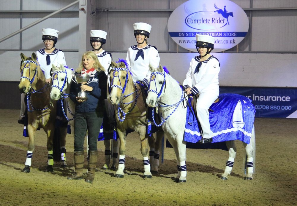 Saffron Walden District Riding Club win Quadrille final (Credit: British Horse Society)