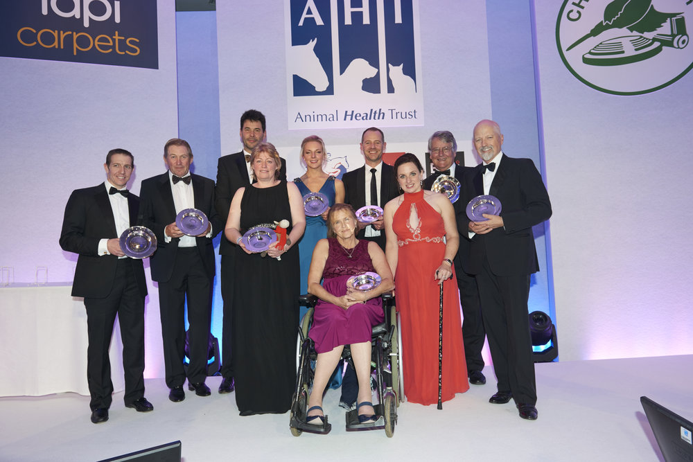 The Animal Health Trust held their Equestrian Awards evening last night (Pic: AHT)
