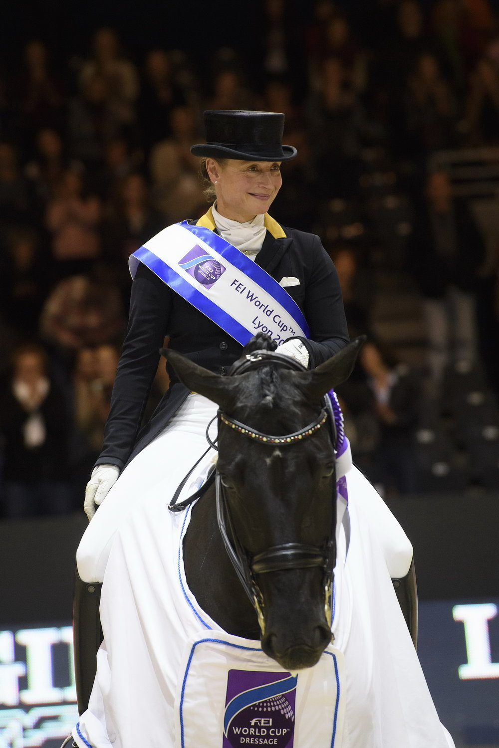 Germany's Isabell Werth and Weihegold Old are now top of the world Dressage ranking (Pic: FEI)