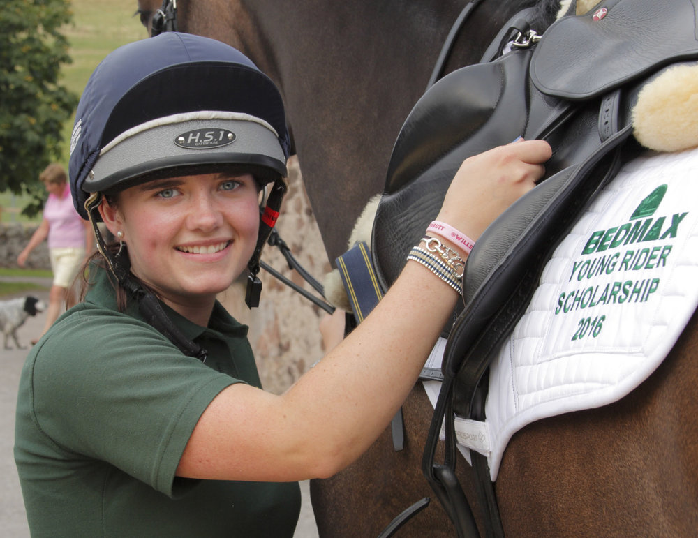 You could be the next BEDMAX young rider like Elspeth Jamieson